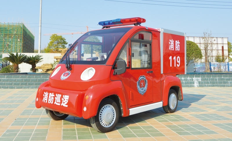 2 seat electric fire trucks (without water tank)