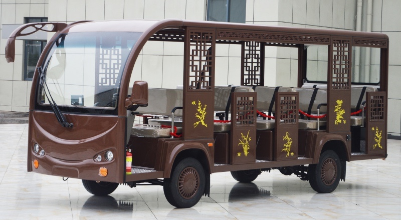 14-seat antique electric sightseeing buses