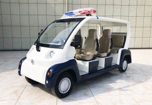 Glass reinforced plastic six-seat open patrol car